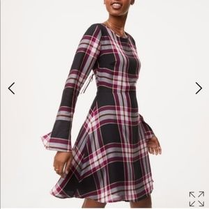 Loft Plaid Dress